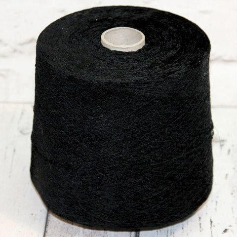 Вискозный велюр LUIGI BOLDRINI 1200 черный