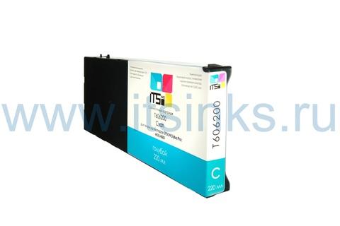 Картридж для Epson 4800/4880 C13T606200 Cyan 220 мл