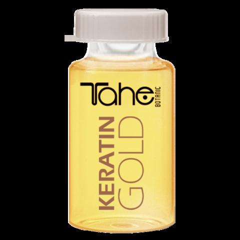 BOTANIC KERATIN GOLD 10 ml Аргановое масло для волос с частицами золота  10 мл