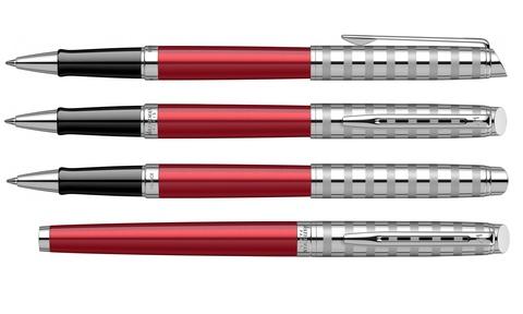 Ручка-роллер Waterman Hemisphere French riviera Deluxe RED CLUB RB в подарочной коробке123
