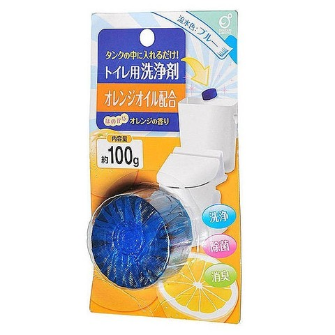 Таблетка для сливного бачка Okazaki с апельсиновым маслом 100 гр