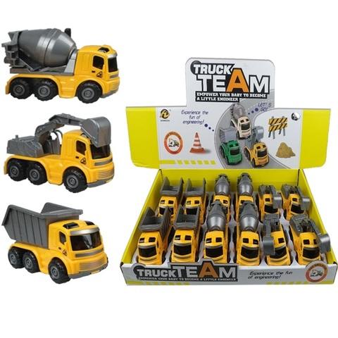 Инерционная машинка (в ассортименте) TRUC TEAM № 4, 1кор*36бл*12шт