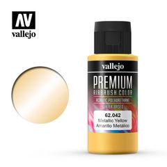 Premium color 60ml. 042-metallic yellow