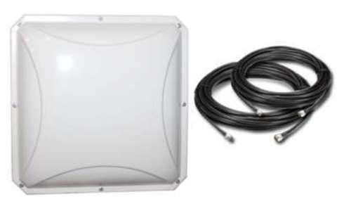 Антенный комплект усиления LTE сигнала для wi-fi роутера Пригородный-4G-PETRA-MIMO