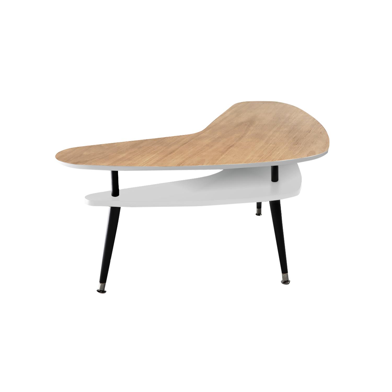 Журнальный стол Бумеранг дуб - вид 1