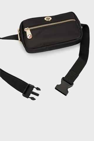 Женская черная поясная сумка POPPY BUMBAG Tommy Hilfiger