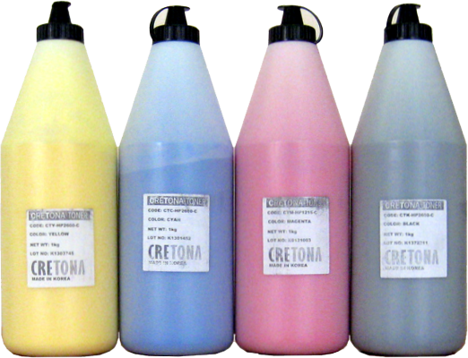 Тонер цветной CRETONA KOREA Q6003A (CTM-HP2600-C) пурпурный (magenta), упаковка 1кг.
