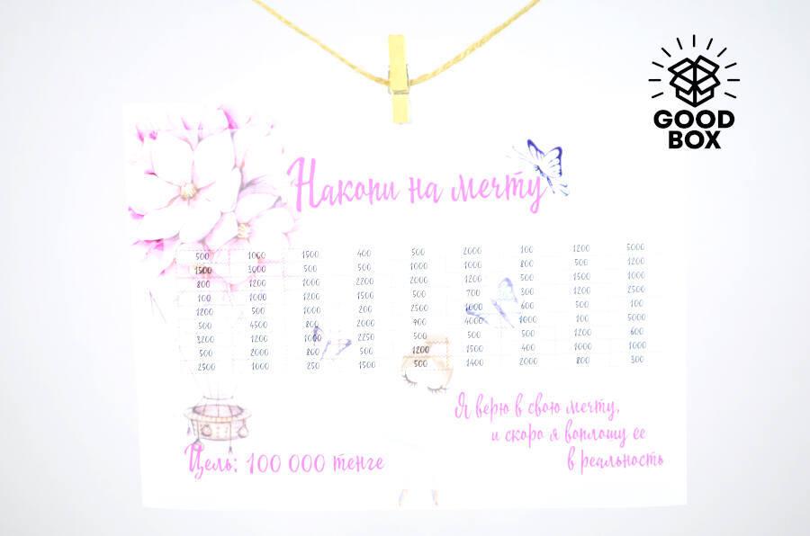 Наклейка-копилка купить в Алматы