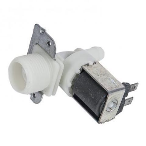 Клапан электромагнитный для стиральной машины -1 Х 180* Dвых=10,5мм