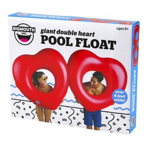Набор кругов для бассейна BigMouth, Two Hearts is Better then One, 2 шт