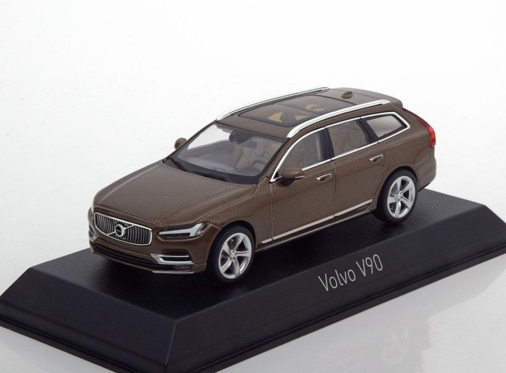 Коллекционная модель VOLVO V90 2016 TWILIGHT BRONZE