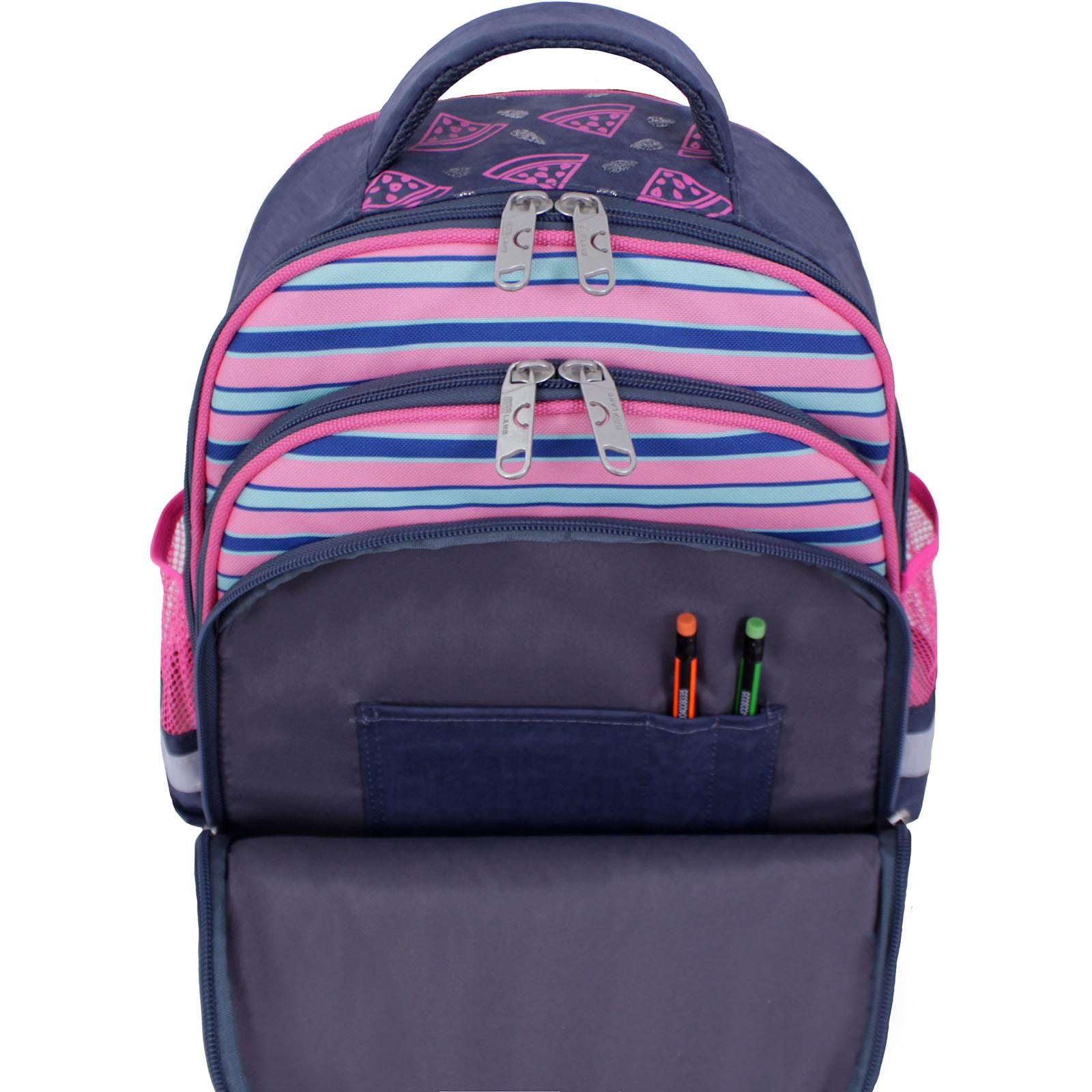 Рюкзак школьный Bagland Mouse 321 серый 204к (0051370) фото 5