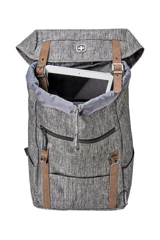 Картинка рюкзак городской Wenger  темно-серый - 3