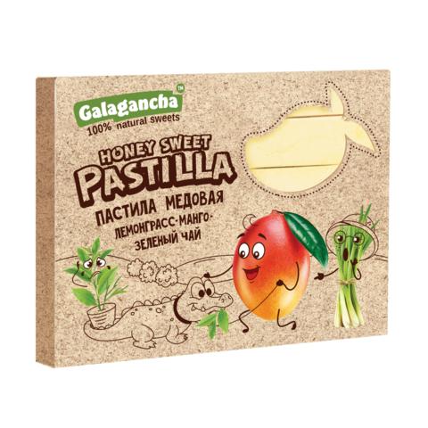 Pastilla Пастила медовая Лемонграсс манго зелёный чай Galagancha 190г