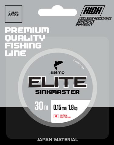 Леска монофильная зимняя Salmo Elite SINKMASTER 30м, 0.10мм