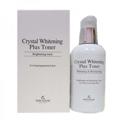 Осветляющий тонер для лица против пигментации The Skin House Crystal Whitening Plus Toner