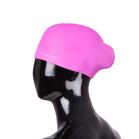 Шапочка для плавания SCL02 (с пучком) (Pearl-Pink)