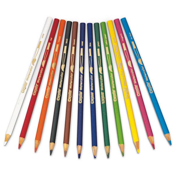 Акварельные карандаши WATERCOLOR PENCILS