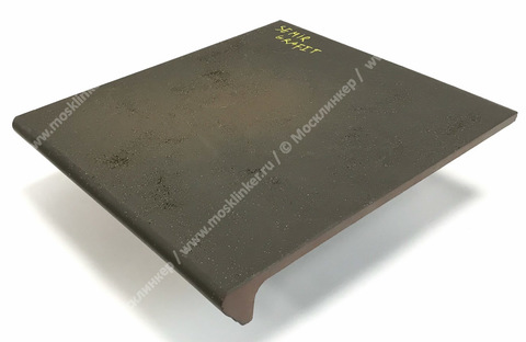 Ceramika Paradyz - Semir Grafit, 300x330x11, артикул 5262 - Ступень простая с капиносом структурная