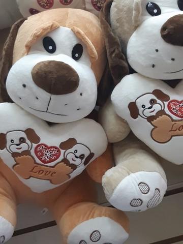 Собаки с сердечками