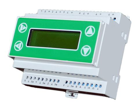 Контроллер Смартагродом Б1-Т на DIN-рейку