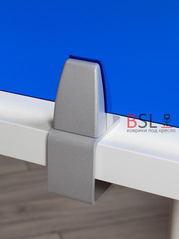 Экран на струбцинах с зажимом синий прозрачный Ш. 1000мм