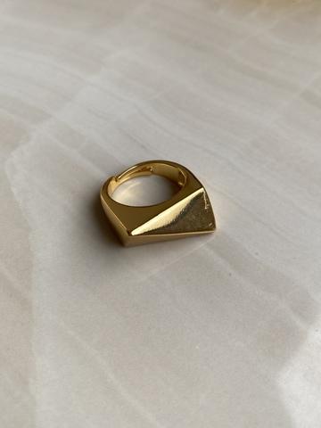 Кольцо Ория, позолота