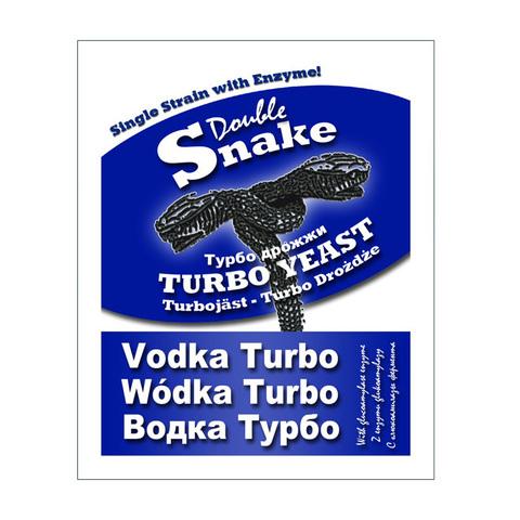 Спиртовые дрожжи DoubleSnake Vodka Turbo, 70 г