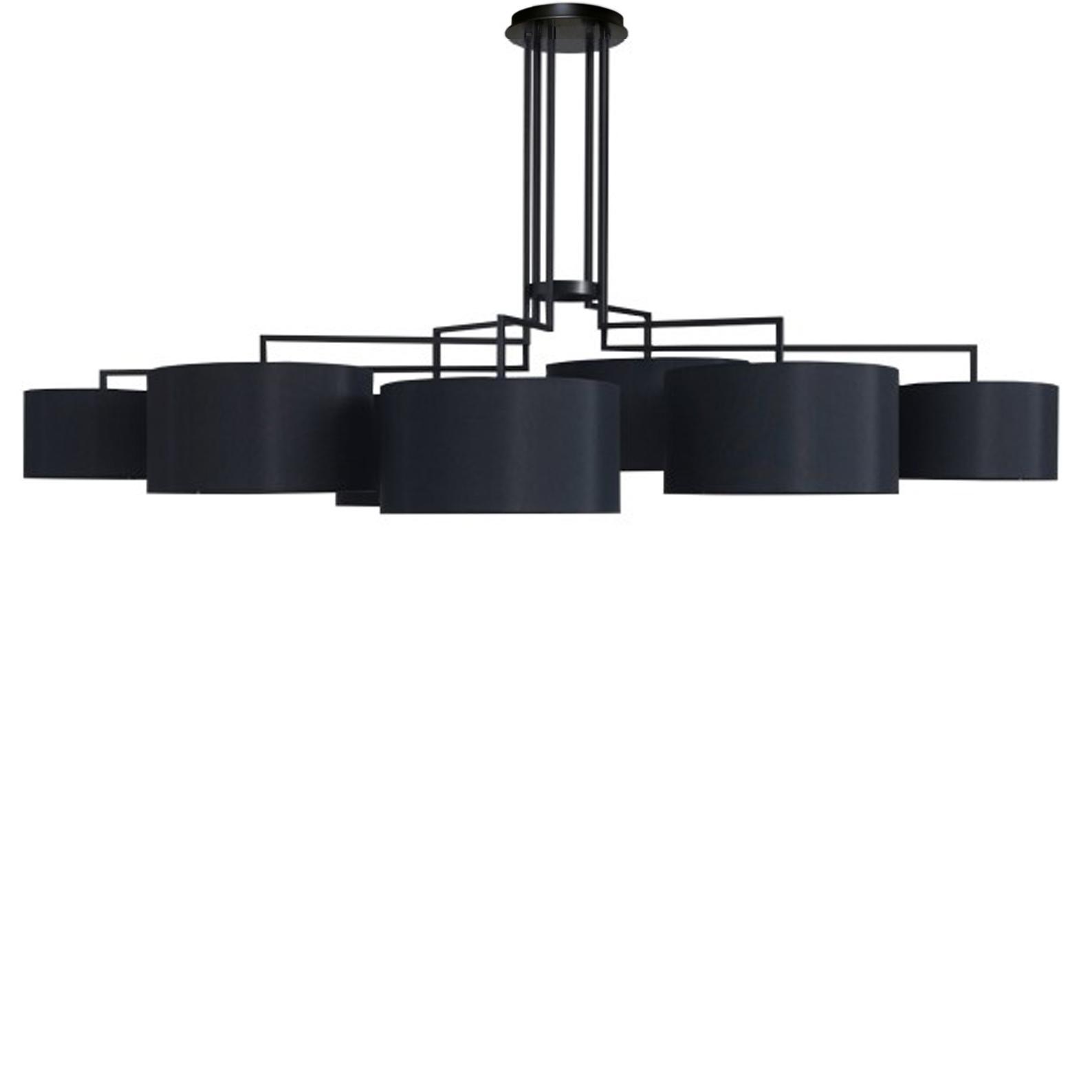 Потолочный светильник копия Noon 7 by Zeitraum (черный)