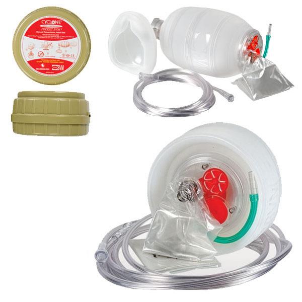 Мешок АМБУ Cyclone Pocket BVM (помпа для искусственной вентиляции легких)