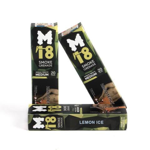 Табак M18 Medium Lemon ice (Лимон лед) 20 г