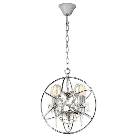 Подвесная люстра Loft it Foucaults orb crystal LOFT1896/4