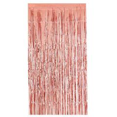 Занавес Дождик розовое золото 1 м х 2 м, 1 шт.