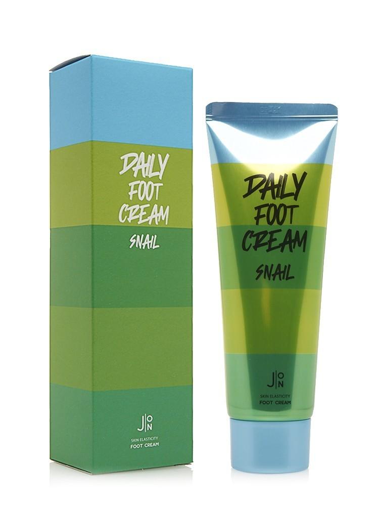 Кремы Крем для ног МУЦИН УЛИТКИ J:ON  Snail Daily Foot Cream 100 мл jon-daily-foot-cream-snail.jpg