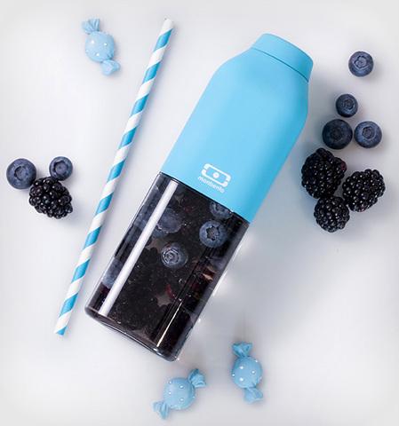 Бутылка Monbento Positive (0,5 литра), голубая