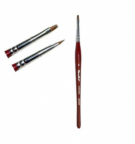 Кисти Roubleff/Кисть плоская из волоса колонка №4 купить за 330руб