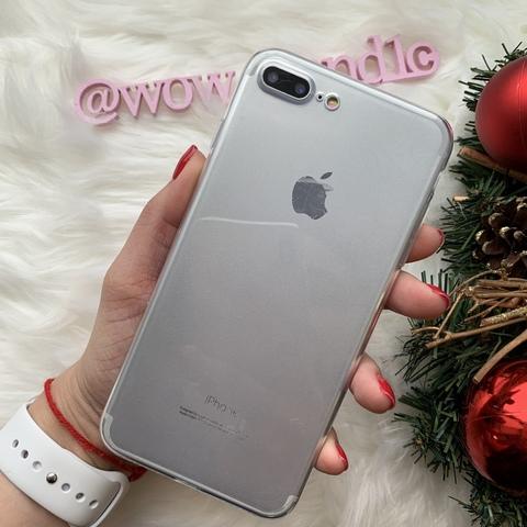 Чехол iPhone 7 Plus Baseus Simple Case (Clear)/прозрачный/
