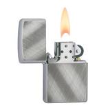 Зажигалка ZIPPO Diagonal Weave латунь с покрытием (28182)