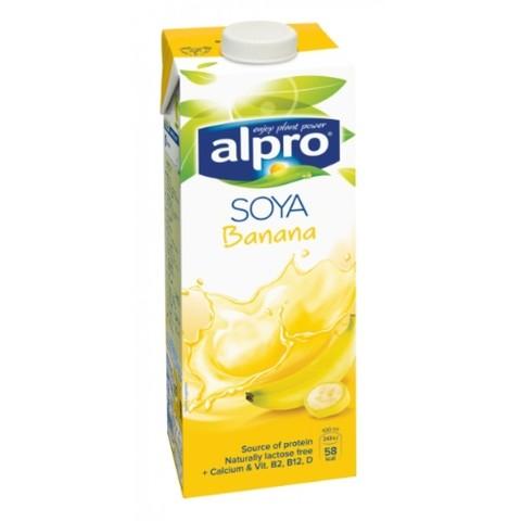 Напиток Соево-Банановый Alpro, 1 л