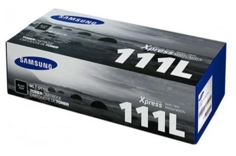 Оригинальный картридж Samsung MLT-D111L (SU801A) черный
