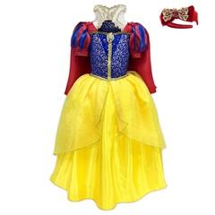 Платье Disney принцессы Белоснежки с бантиком Белоснежки