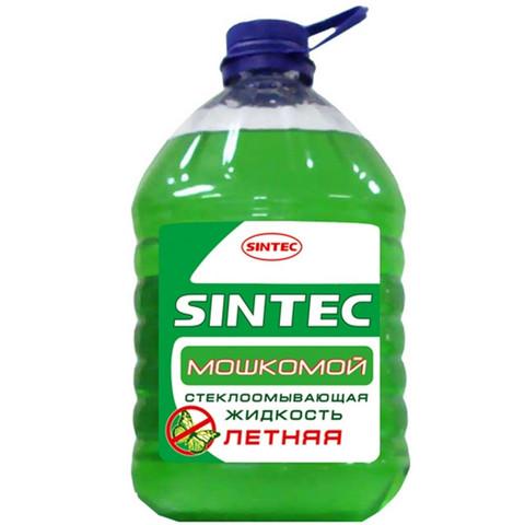 Жидкость Стеклоомывающая Sintec Летняя ПЭТ, 5 л