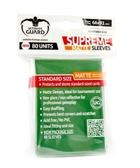 Supreme Sleeves Standard Size Matte Green