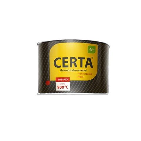 CERTA/ЦЕРТА Термостойкая эмаль 0,4 кг