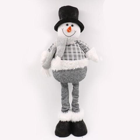 Украшение Снеговик в шляпе 68см войлок SYSDL-5519123