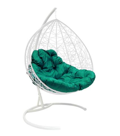 Кресло подвесное Lagos TWIN white/green