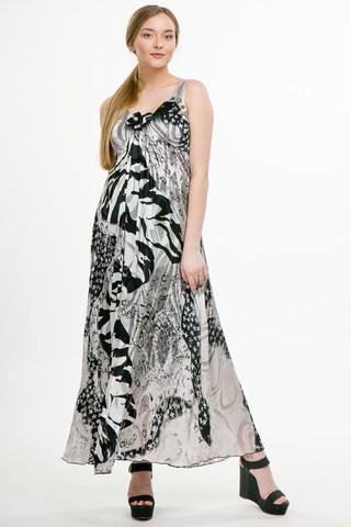Платье для беременных 05949 серый