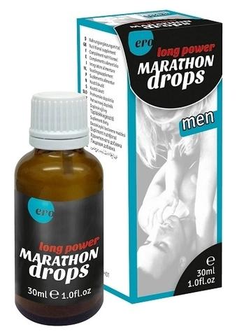 Мужские капли  Marathon long power drops for men, 30мл