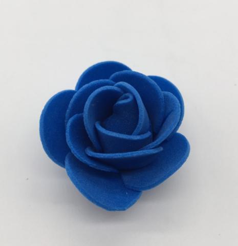 051-9317 Розочки из фоамирана (12 шт.) - синий