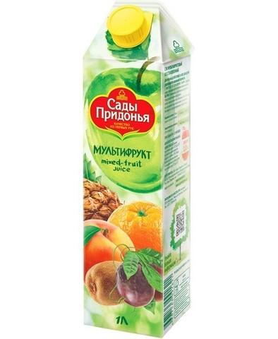 Сок Сады придонья Мультифрукт 1л